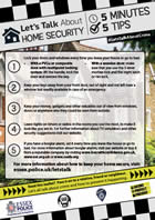 Lets talk about home security